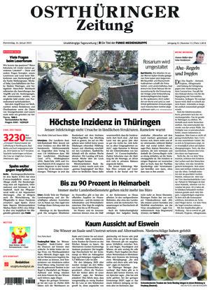 Ostthüringer Zeitung - Gera (14.01.2021)