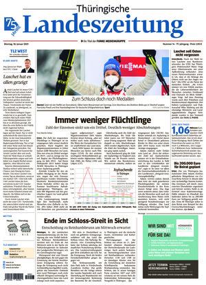 Thüringische Landeszeitung - Weimar (18.01.2021)