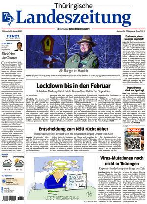 Thüringische Landeszeitung - Weimar (20.01.2021)