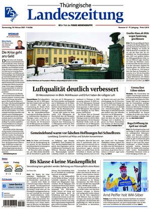 Thüringische Landeszeitung - Weimar (18.02.2021)