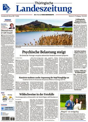 Thüringische Landeszeitung - Weimar (20.02.2021)