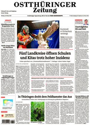 Ostthüringer Zeitung - Gera (22.02.2021)