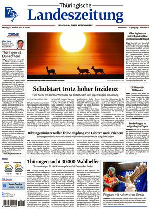 Thüringische Landeszeitung - Weimar (22.02.2021)
