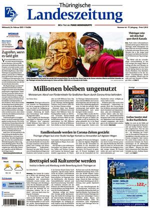 Thüringische Landeszeitung - Weimar (24.02.2021)