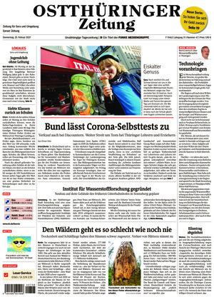Ostthüringer Zeitung - Gera (25.02.2021)
