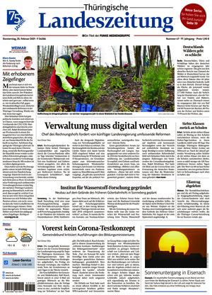 Thüringische Landeszeitung - Weimar (25.02.2021)