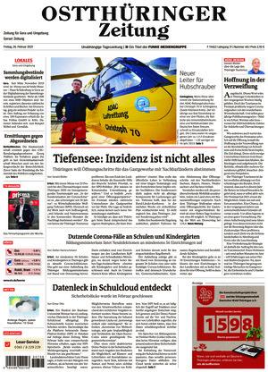 Ostthüringer Zeitung - Gera (26.02.2021)