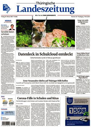 Thüringische Landeszeitung - Weimar (26.02.2021)