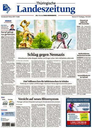 Thüringische Landeszeitung - Weimar (27.02.2021)
