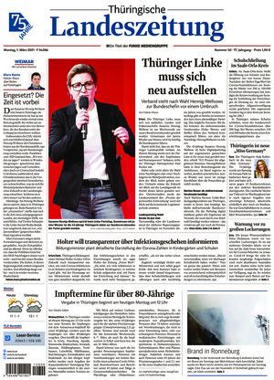 Thüringische Landeszeitung - Weimar (01.03.2021)