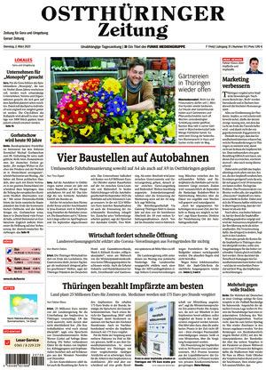 Ostthüringer Zeitung - Gera (02.03.2021)