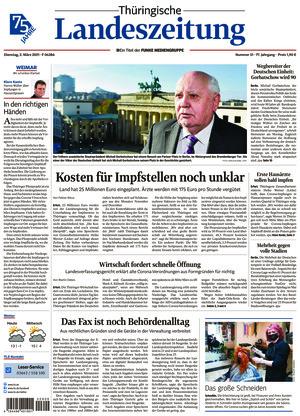 Thüringische Landeszeitung - Weimar (02.03.2021)