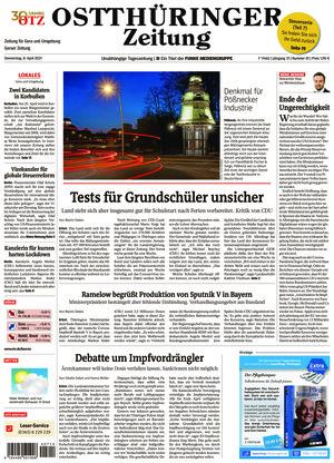 Ostthüringer Zeitung - Gera (08.04.2021)