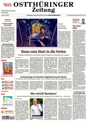 Ostthüringer Zeitung - Gera (23.07.2021)