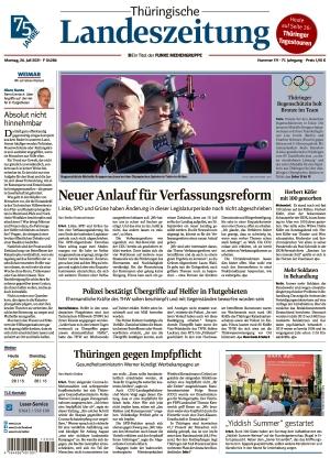 Thüringische Landeszeitung - Weimar (26.07.2021)