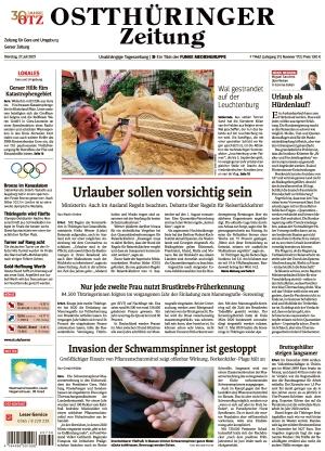 Ostthüringer Zeitung - Gera (27.07.2021)