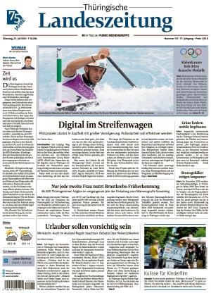 Thüringische Landeszeitung - Weimar (27.07.2021)