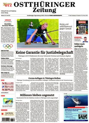 Ostthüringer Zeitung - Gera (28.07.2021)