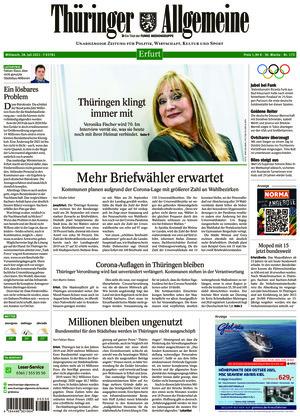 Thüringer Allgemeine - Erfurt (28.07.2021)
