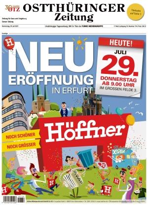 Ostthüringer Zeitung - Gera (29.07.2021)