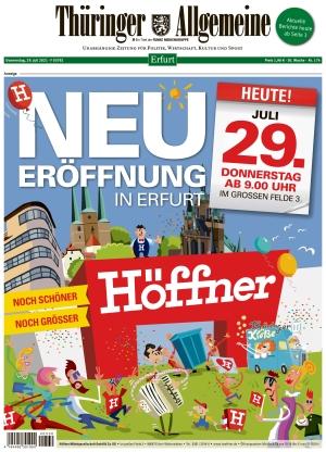 Thüringer Allgemeine - Erfurt (29.07.2021)