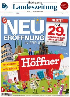 Thüringische Landeszeitung - Weimar (29.07.2021)