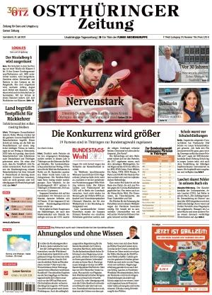 Ostthüringer Zeitung - Gera (31.07.2021)