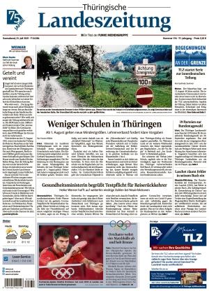 Thüringische Landeszeitung - Weimar (31.07.2021)