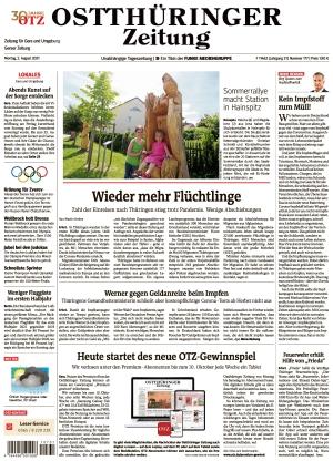 Ostthüringer Zeitung - Gera (02.08.2021)