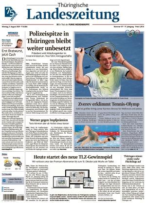 Thüringische Landeszeitung - Weimar (02.08.2021)