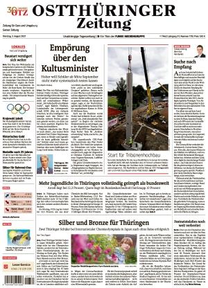 Ostthüringer Zeitung - Gera (03.08.2021)