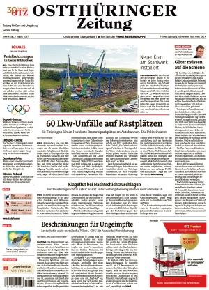 Ostthüringer Zeitung - Gera (05.08.2021)