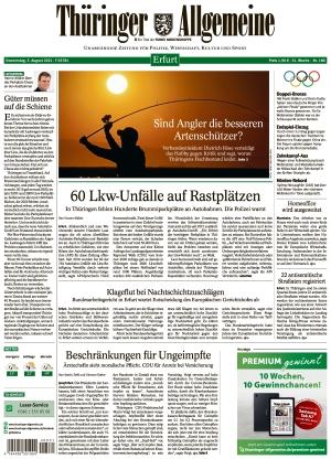 Thüringer Allgemeine - Erfurt (05.08.2021)