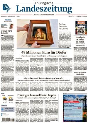 Thüringische Landeszeitung - Weimar (15.09.2021)