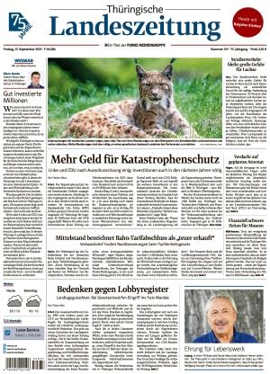 Thüringische Landeszeitung - Weimar (17.09.2021)