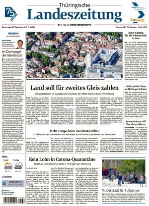 Thüringische Landeszeitung - Weimar (23.09.2021)