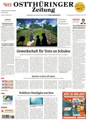 Ostthüringer Zeitung - Gera (12.10.2021)