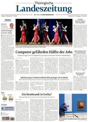 Thüringische Landeszeitung - Weimar (15.10.2021)