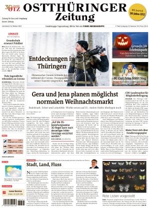 Ostthüringer Zeitung - Gera (16.10.2021)