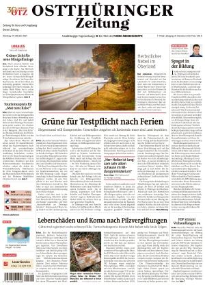 Ostthüringer Zeitung - Gera (19.10.2021)