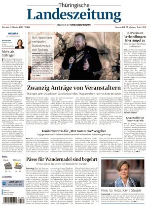 Thüringische Landeszeitung - Weimar (19.10.2021)