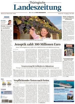 Thüringische Landeszeitung - Weimar (20.10.2021)