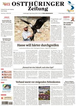 Ostthüringer Zeitung - Gera (21.10.2021)