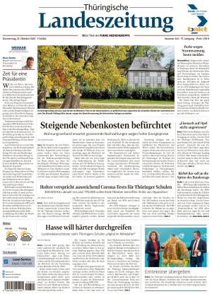 Thüringische Landeszeitung - Weimar (21.10.2021)
