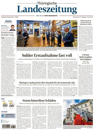 Thüringische Landeszeitung - Weimar (22.10.2021)
