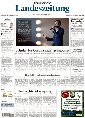 Thüringische Landeszeitung - Weimar (23.10.2021)