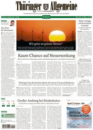 Thüringer Allgemeine - Erfurt (26.10.2021)