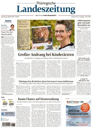 Thüringische Landeszeitung - Weimar (26.10.2021)
