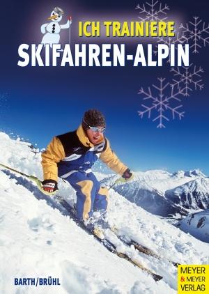 Ich trainiere Skifahren-alpin