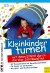 Vergrößerte Darstellung Cover: Kleinkinder turnen mit ihren Eltern durch die vier Jahreszeiten. Externe Website (neues Fenster)